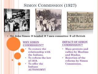 Simon Commission (1927)