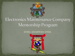 Electronics Maintenance Company  Mentorship Program