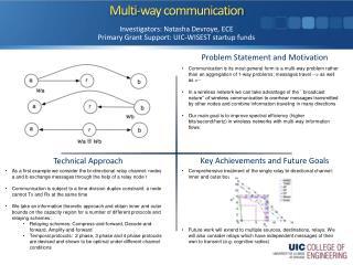 Multi-way communication