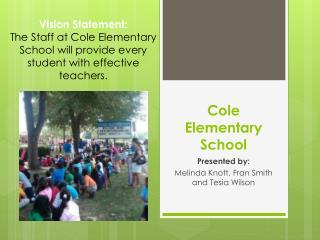 Cole Elementary School