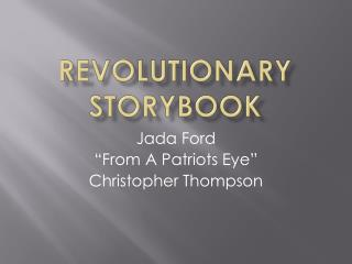 Revolutionary Storybook