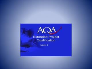 EPQ  Learner Outcomes