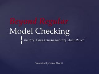 Beyond Regular Model Checking