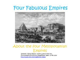 Four Fabulous Empires