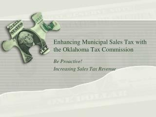 Enhancing Municipal Sales Tax with the Oklahoma Tax Commission