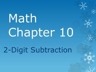 Math Chapter 10