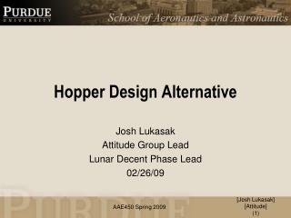 Hopper Design Alternative
