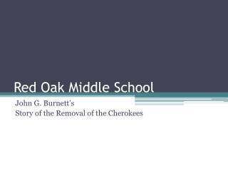 Red Oak Middle School