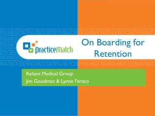 On Boarding for Retention