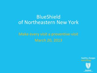 BlueShield  of Northeastern New York
