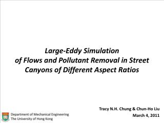 Large-Eddy Simulation  of Flows and Pollutant Removal in Street Canyons of Different Aspect Ratios