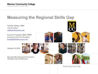 Measuring the Regional Skills Gap