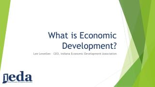 What is Economic Development?