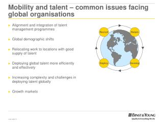 Mobility and talent – common issues facing global organisations