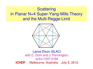 Scattering  in Planar N=4 Super-Yang-Mills Theory and the Multi- Regge -Limit