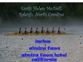 Emily Helen McNeill Raleigh, North Carolina