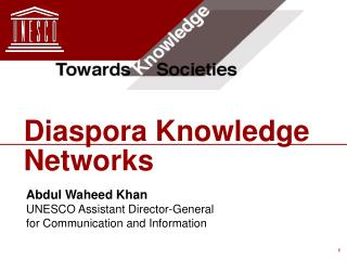 Diaspora Knowledge Networks