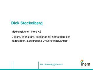 Dick Stockelberg