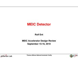 MEIC Detector