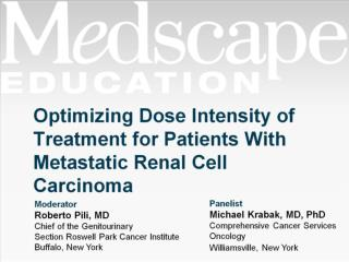 Optimizing Dose Intensity of Treatment for Patients With Metastatic Renal Cell Carcinoma