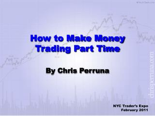 How to Make Money Trading Part Time