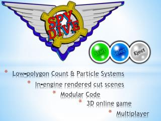 Low-polygon Count & Particle Systems