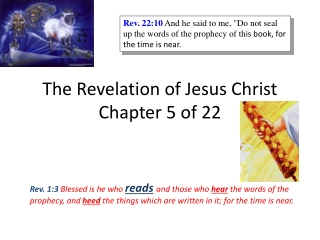 Prophecy Series VII Seals 2-6 and the Rapture