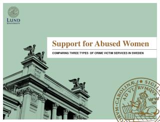 Support  for Abused Women