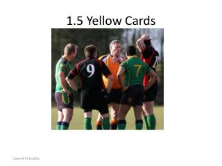1.5 Yellow Cards