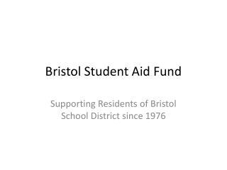 Bristol Student Aid Fund