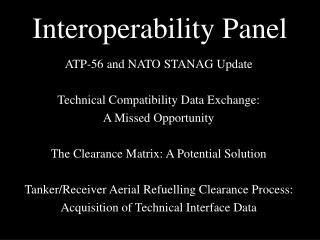 Interoperability Panel
