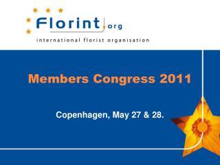 Members Congress  2011