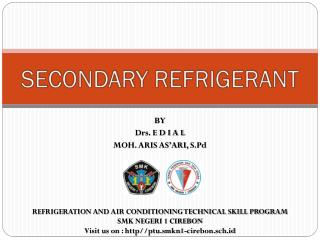 SECONDARY REFRIGERANT