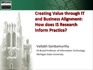 Creating Value through IT and Business Alignment: How does IS ...