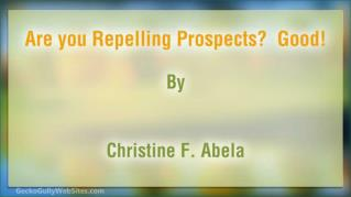 ppt 42099 Are you Repelling Prospects Good
