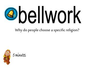 Why do people choose a specific religion?