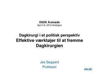 Jes Søgaard Professor