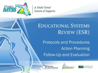 Educational Systems Review (ESR)
