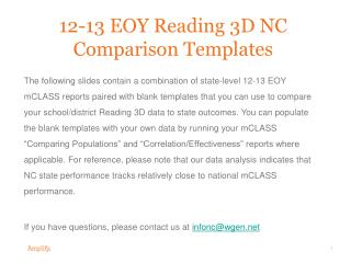 12-13  EOY  Reading 3D NC Comparison Templates