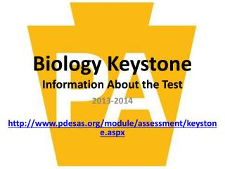 Biology Keystone Information About the Test