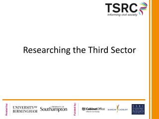 Researching the Third Sector