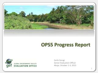 OPS5 Progress Report