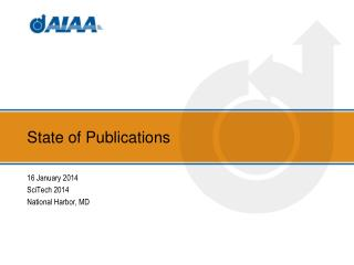 State of Publications
