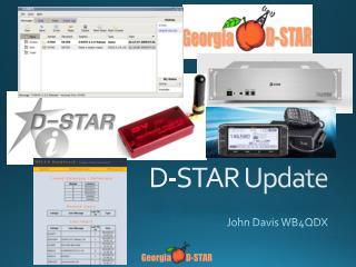 D-STAR Update