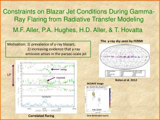 Constraints on  Blazar  Jet Conditions During Gamma-Ray Flaring from  Radiative  Transfer Modeling