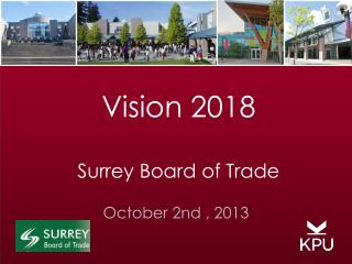 Vision 2018 Surrey Board of Trade