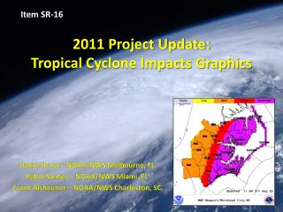 2011 Project Update: Tropical Cyclone Impacts Graphics