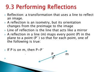 9.3 Performing Reflections