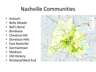 Nashville Communities