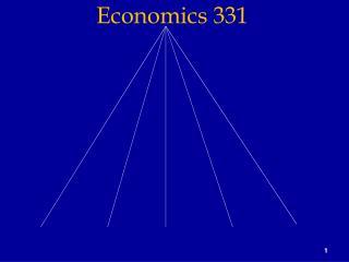 Economics 331